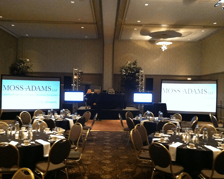 Staging & Lighting Services